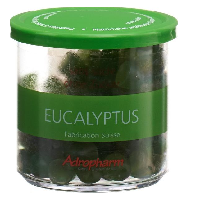 Image of Adropharm Eukalyptus ohne Zucker reizlind Pastillen (140g)