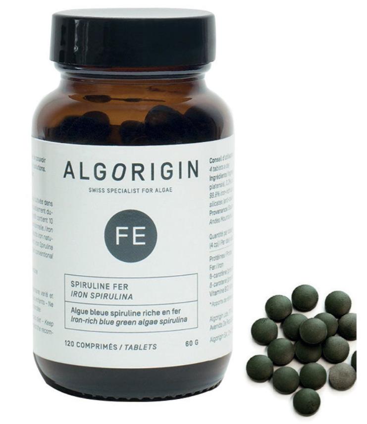 Image of Algorigin Eisen Spirulina Tabletten (120 Stk)