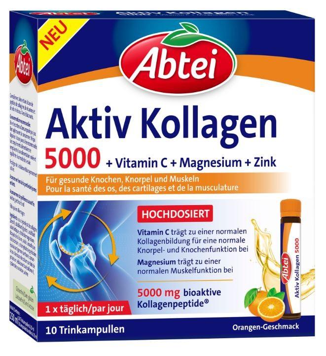 Image of Abtei Aktiv Kollagen 5000 (10 Ampullen)