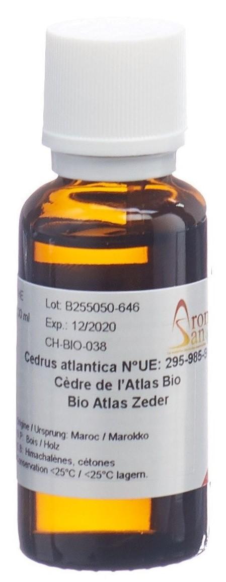 Image of AromaSan Atlas Zeder Bio Ätherisches Öl (30ml)