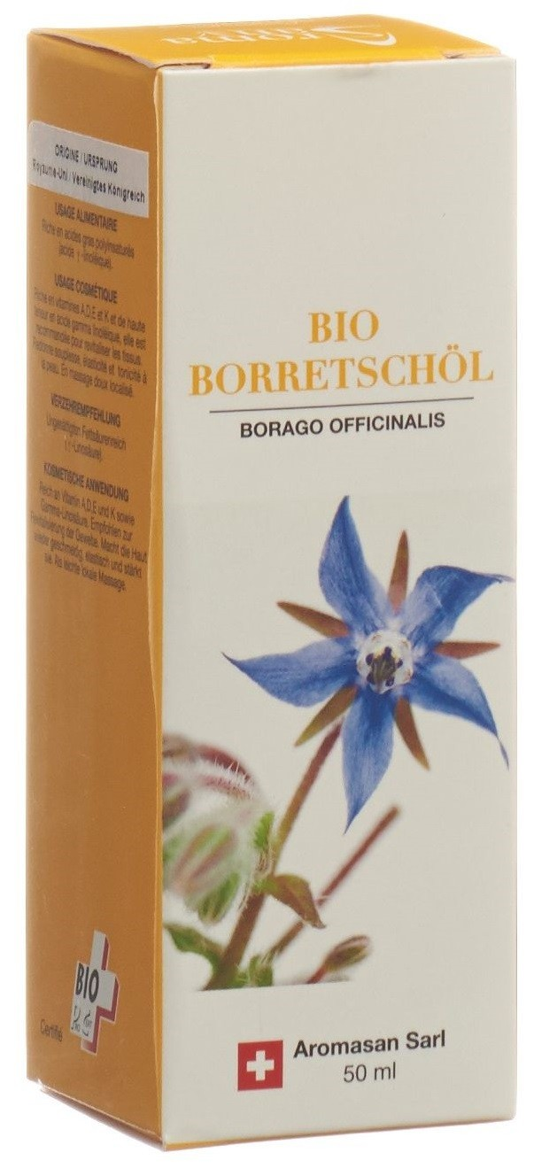 Image of AromaSan Bio Borretschöl (50ml)