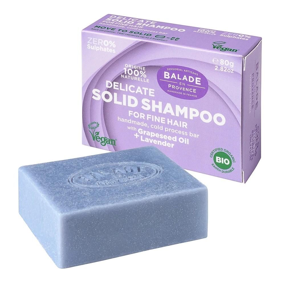 Image of BALADE EN PROVENCE Festes Haarshampoo Lavendel (80g)