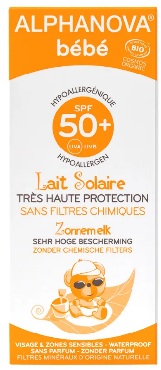 Image of ALPHANOVA bébé Bio Sonnenmilch LSF50+ (50ml)