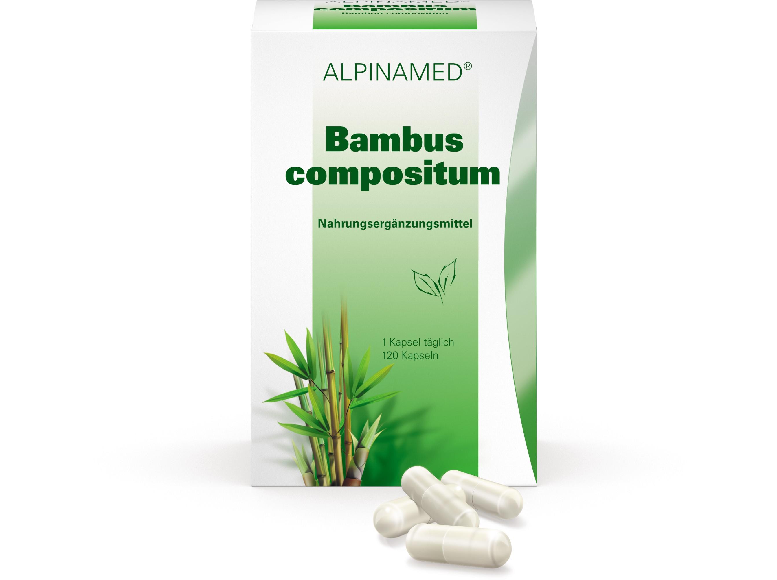 Image of Alpinamed Bambus compositum Kapseln (120 Stk)
