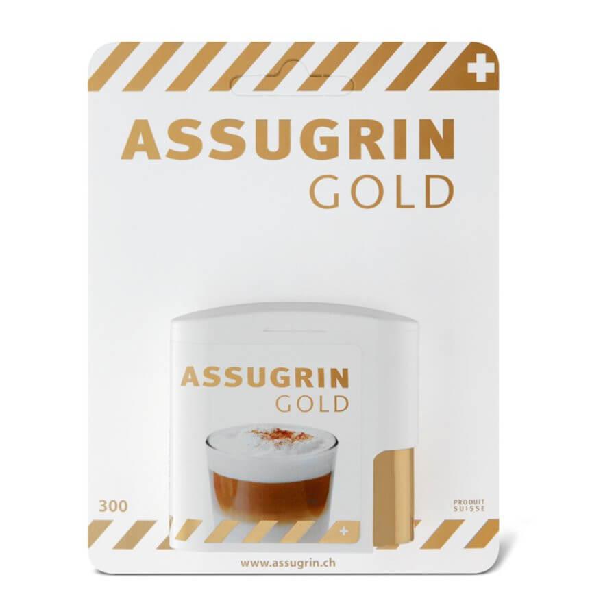 Image of ASSUGRIN Gold Süssstoff (300 Stk)