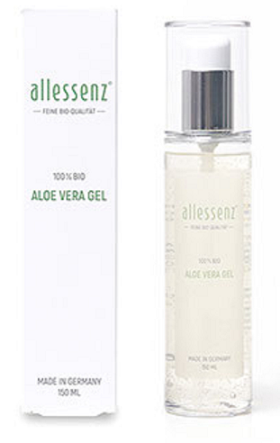 Image of Allessenz 100% Aloe Vera Bio Gel (150ml)