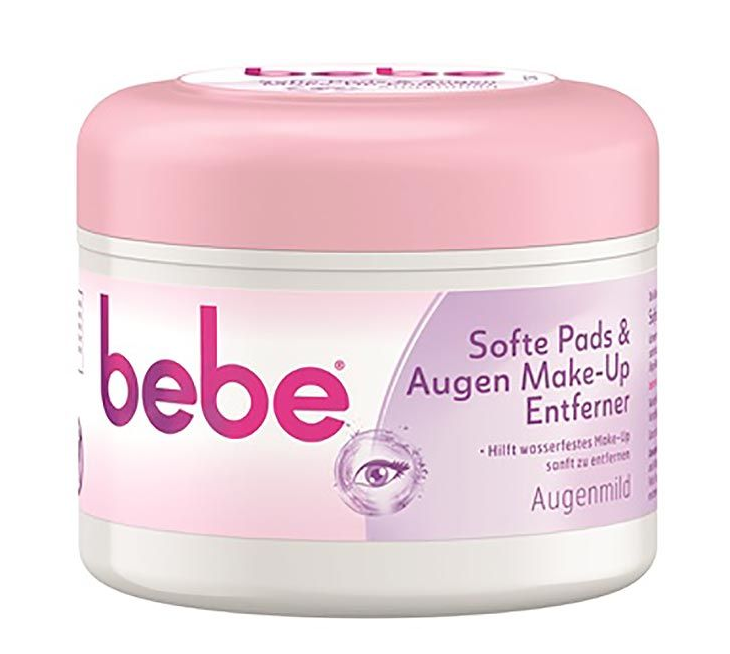 Image of bebe Softe Pads & Augen Make-up Entferner