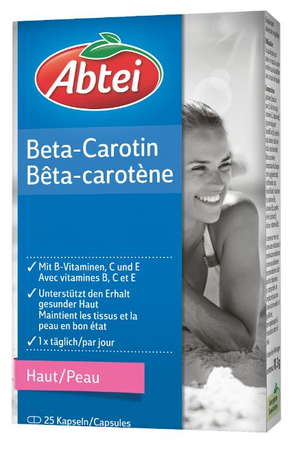 Image of Abtei Beta-Carotin (25 Stk)
