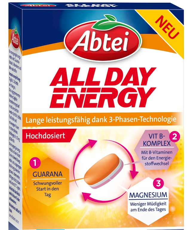 Image of Abtei All Day Energy (20 Stk)