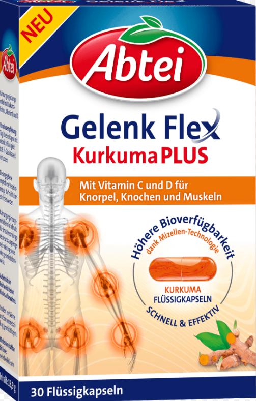 Image of Abtei Gelenk Flex Kurkuma Plus (30 Stk)
