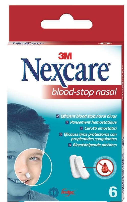 Image of 3M Nexcare Blood Stop Nasal Plugs Box (6 Stk)