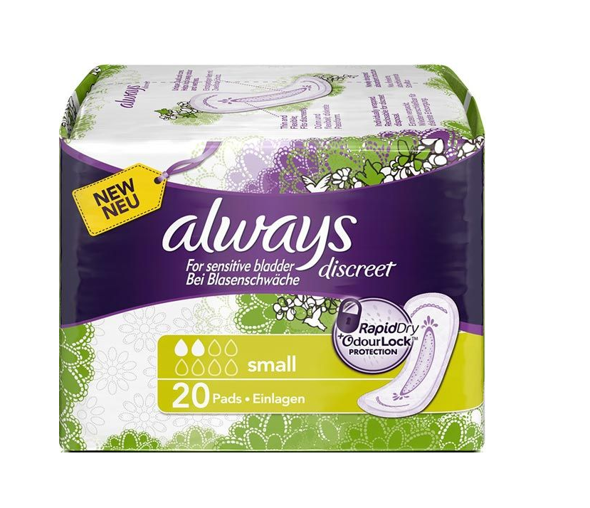 Image of Always Discreet Inkontinenz Small (20 Stk)
