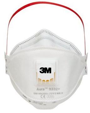 Image of 3M Feinstaubmaske FFP3 mit Ventil (10 Stk)