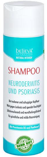 Image of Believa Pflegeshampoo Neurodermitis & Psoriasis (200ml)
