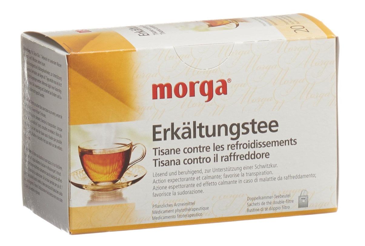 Image of MORGA Erkältungstee Btl (20 Stk)