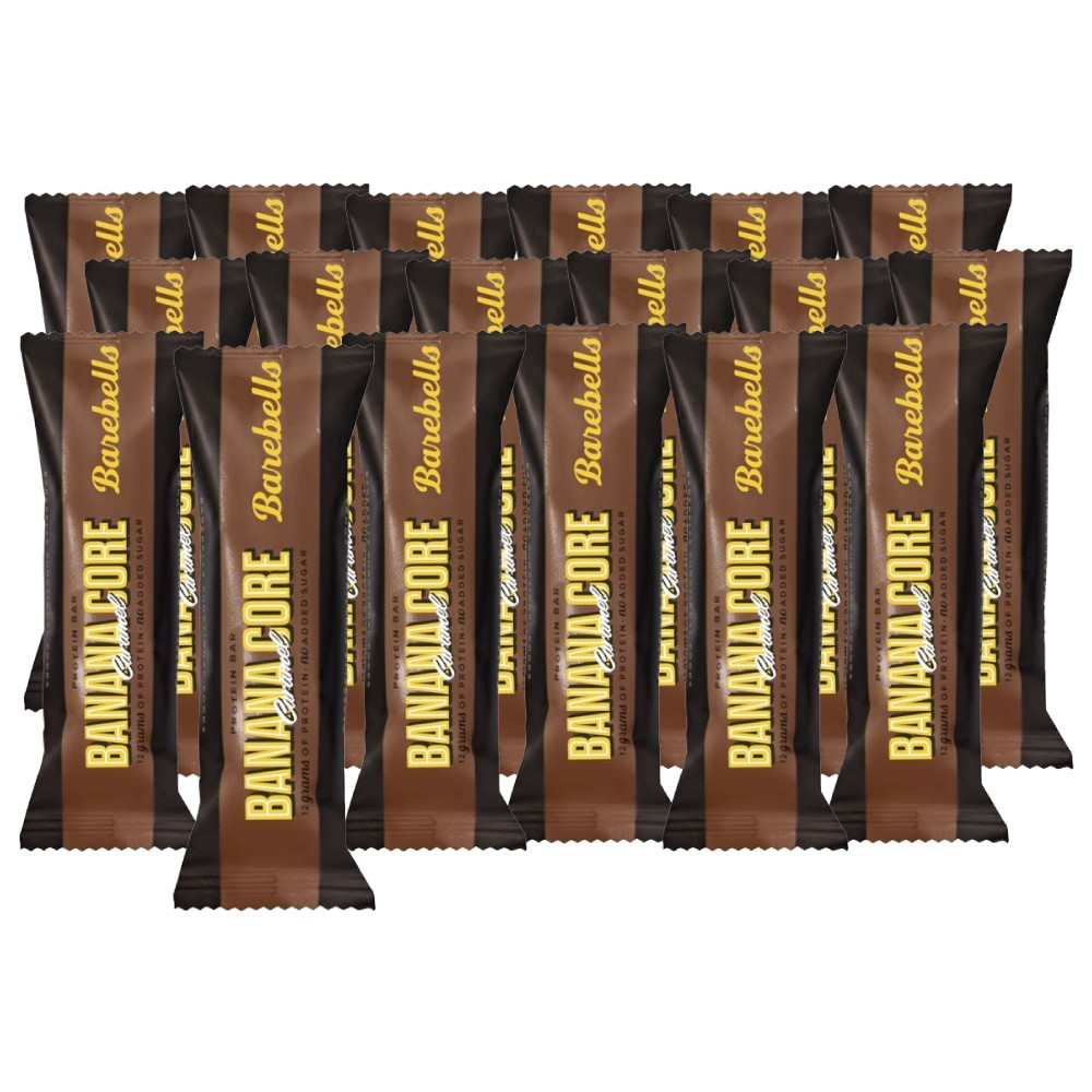 Image of Barebells Banana Core Protein Riegel (18 x 35g)