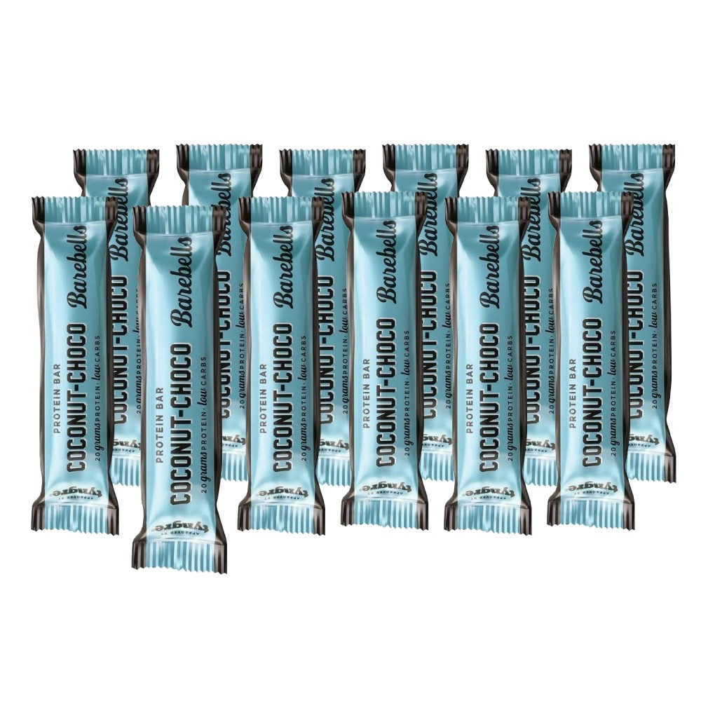 Image of Barebells Coconut Choco Protein Riegel (12 x 55g)