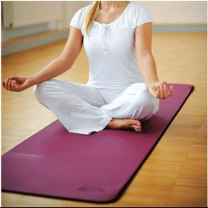 Sissel Pilates & Yoga Matte Bordeaux