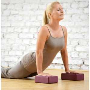 Sissel Yoga Block Bordeaux (1 pièces)