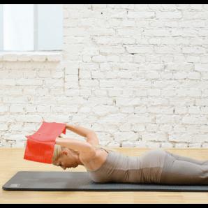 Sissel Pilates Band Rot (1 Stk)
