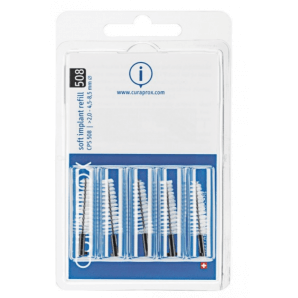 Curaprox CPS 508 refill interdental brush black (5 pieces)
