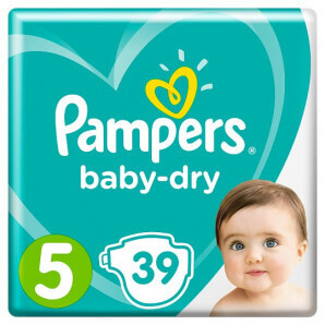 Pampers - Baby Dry Gr.5...
