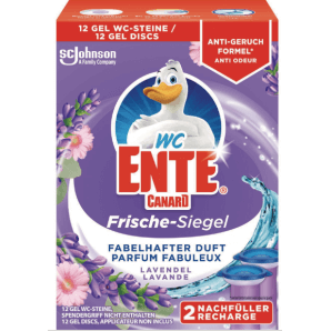 WC-Ente freshness seal refill lavender (2x36ml)