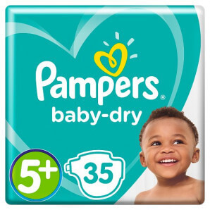 Pampers - Baby Dry Gr.5+...