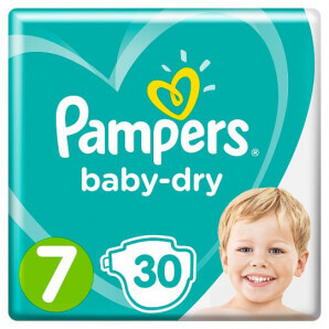 Pampers - Baby Dry Gr.7...
