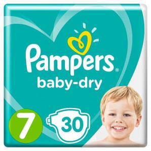 Pampers - Baby Dry Gr.7 15kg+ (30 Stk)