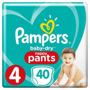 Pampers - Baby Dry Pants Gr.4 9-15kg (40 Stk)