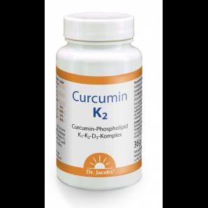 Dr. Jacob's les capsules Curcumin K2 (60 pcs)