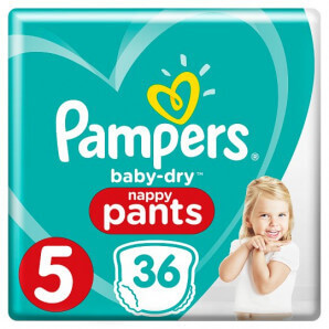 Pampers - Baby Dry Pants Gr.5 12-17kg (36 Stk)
