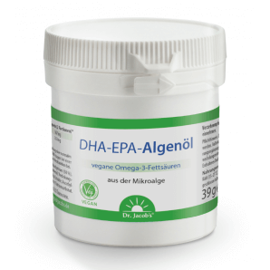 Dr. Jacob's DHA-EPA algae oil capsules (60 pieces)