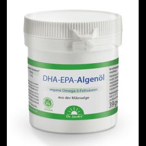 Dr. Jacob's les capsules d'huile d'algue DHA-EPA (60 pièces)