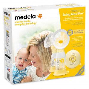 Medela - Doppelmilchpumpe Swing Maxi Flex
