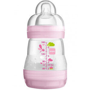 MAM Easy Start Anti-Colic Bottle Girl (160ml)