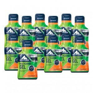 Multipower Multicarbo Gel Isomaltulose Orange (12x40g)