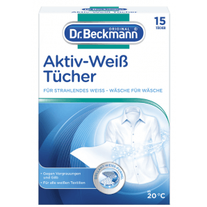 Dr. Beckmann Active White Wipes (15 pieces)