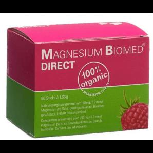 Magnesium Biomed Direct Sticks (60 Stk)