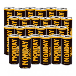 MONDAY Mango Energy Drink (24x250ml)