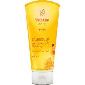 Weleda - Calendula Baby Waschlotion & Shampoo (200ml)
