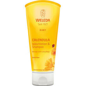 Weleda Calendula Baby Waschlotion & Shampoo (200ml)