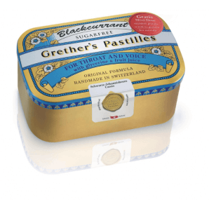 Grether's Pastilles Blackcurrant zuckerfrei (400g)