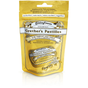 Grether's Pastilles Elderflower zuckerfrei (100g)