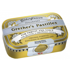 Grether's Pastilles Elderflower zuckerfrei (110g)