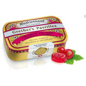 Grether's Pastilles Redcurrant sugar-free (110g)