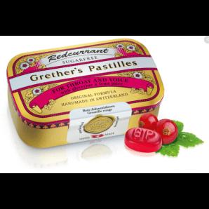 Grether's Pastilles Redcurrant zuckerfrei (110g)