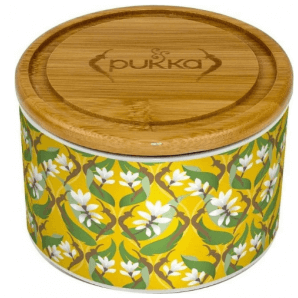 Pukka ceramic jar Golden Kurkuma