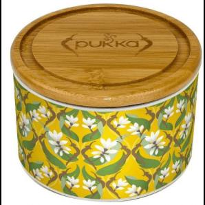 Pukka Keramik Dose Goldene Kurkuma